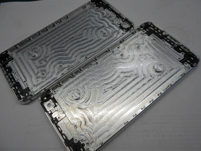 Die-casting molding parts for cell phone housing